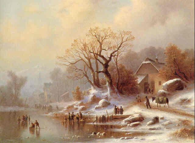 L\'inverno. Paesaggi in pittura. Vedute nei quadri