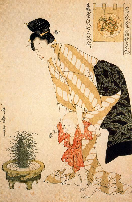 Utamaro Kitagawa Arte Asiatica Giappone